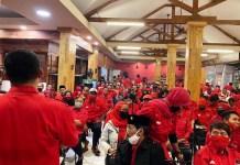 PILWALI SURABAYA: Menangkan Eri-Armuji, PDIP Surabaya menggelar konsolidasi hingga tingkat anak ranting. | Foto: IST