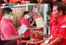 DIPECAT: Anugrah Ariyadi (kanan), dipecat dari kader PDIP karena membangkang perintah Megawati. | Foto: Barometerjatim.com/ROY HS