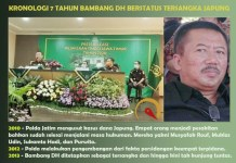 JAPUNG: Kejati saat konferensi pers (kiri) dan tersangka kasus Japung, Bambang DH. | Foto: Barometerjatim.com/ABDILLAH