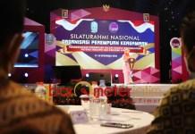 BANGKIT DARI PANDEMI: Khofifah saat membuka Silaturahmi Nasional OPK 2020 di Batu. | Foto: Barometerjatim.com/ROY HS