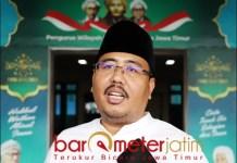 POLEMIK IMPOR BERAS: Anwar Sadad, minta KHofifah tegas dan berani tolak beras impor masuk Jatim. | Foto: Barometerjatim.com/ROY