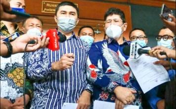 DEMOKRAT MASIH PANAS: Kuasa Hukum AHY sebutkubu Moeldoko dan Jhoni Allen berbohong lagi. | Foto: Barometerjatim.com/IST