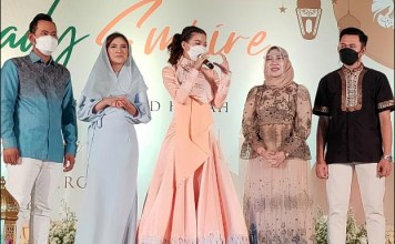 BISNIS PRODUK KECANTIKAN: Iftar Ramadhan, acara yang digelar salah satu produk kecantikan. | Foto IST
