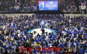 PAMOR MASIH TINGGI: Pamor AHY, bukti Partai Demokrat sukses dalam suksesi kepemimpinan. | Foto: Barometerjatim.com/ROY HS/DOK
