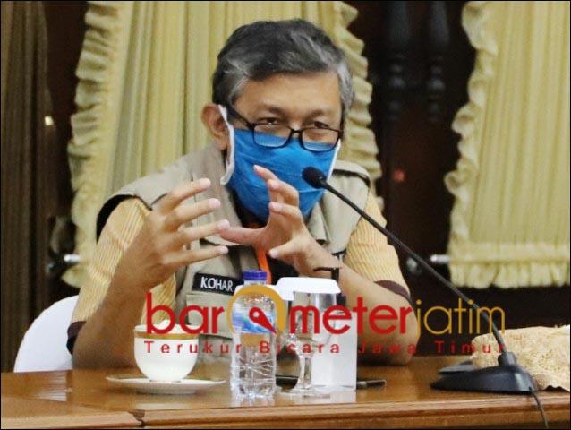 IKA UNAIR: Direktur RSUD Dr Saiful Anwar Malang, Dokter Kohar, salah satu calon ketum.   Foto: Barometerjatim.com/DOK