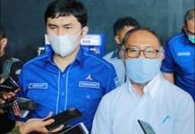 ANGKAT BICARA: Bambang Widjojanto (kanan), pokok gugatan terhadap KLB Demokrat abal-abal belum diperiksa. | Foto: IST