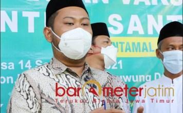 GERAK CEPAT: Bupati Gresik, Fandi Akhmad Yani, gerakcepat antisipasi stunting pasca pandemi.   Foto: Barometerjatim.com/ROY HS