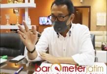 JATIM 'PROTES': Hadi Sulistyo, harusnya tetap ada penghargaan kategori produksi terbesar. | Foto: Barometerjatim.com/ROY HS
