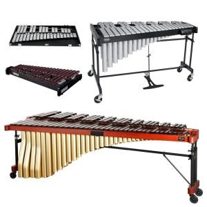 Metallofoni - Xilofoni - Glockenspiel - Marimba - Vibrafoni
