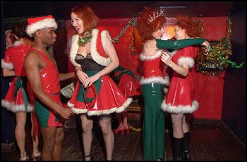 The Baroness Christmas Fetish Retinue
