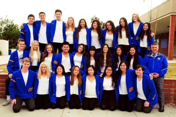 2015-2016 ASB members Photo by Kristie-Valerie Hoang