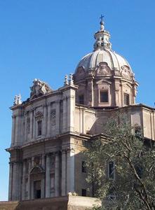 Chiesa dei santi Luca e Martina Roma