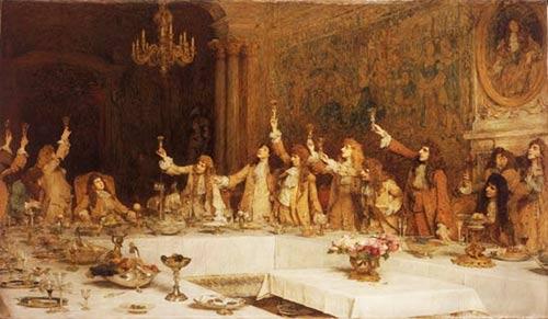 Cos si festeggia a Versailles