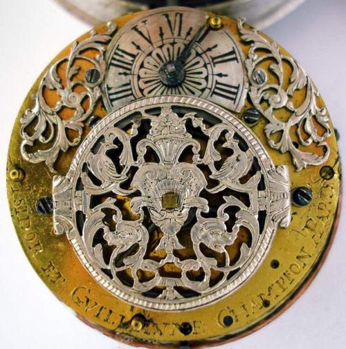 Galleria di orologi da tasca del settecento