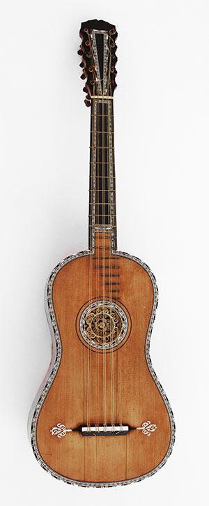 La chitarra barocca