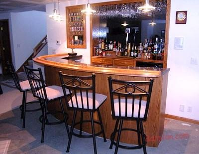 tuscan kitchen island fans round shaped home bar plans