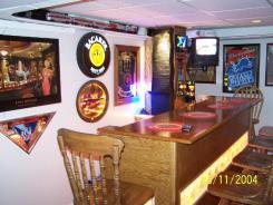 Chicago bsement bar