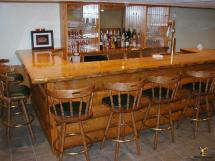 Rustic Basement Bar Design Ideas