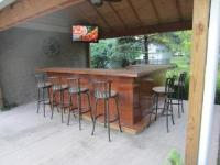 Backyard Bar Plans | Easy Home Bar Plans