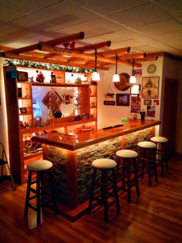 EHBP10 Combo Wet Bar Project  Easy Home Bar Plans