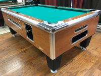 Table #0412117 Shelti used coin operated pool table | Used ...