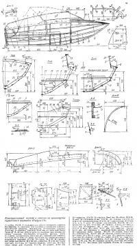 Два новых варианта мотолодки «Радуга-34» (Проекты