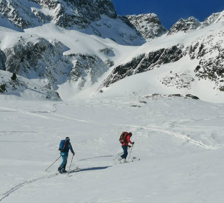 Esquí de travesía en el Pirineo. Foto: José Antonio Canela