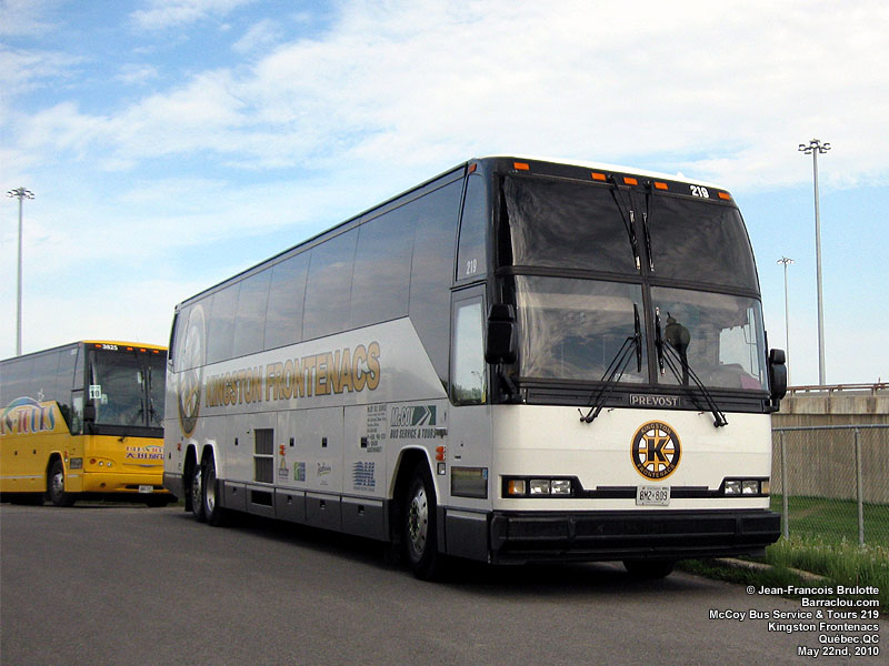Ontario Hockey League OHL team bus picture gallery  Barracloucom