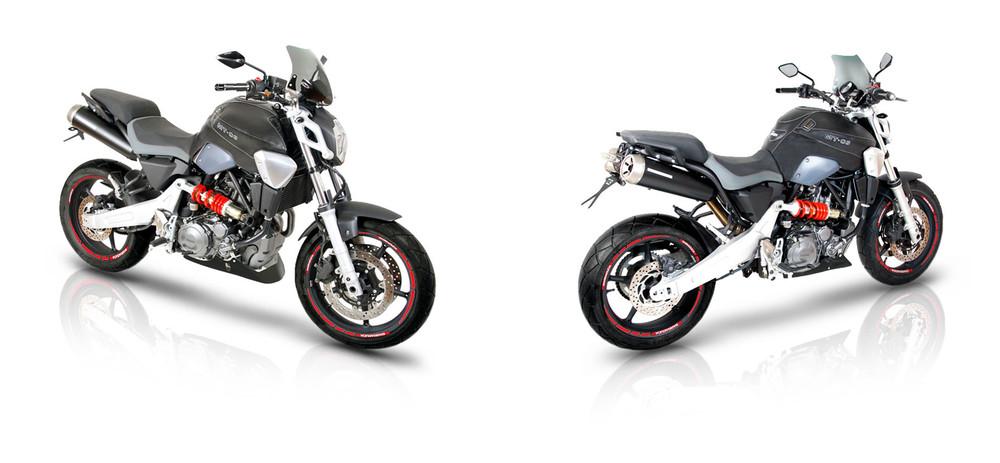 Motorradzubehör Yamaha MT-03 2006 2007 2008 2009 2010 2011