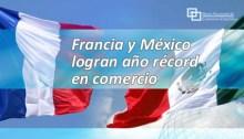 Francia y México logran año récord en comercio