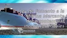 Ley de Fomento a la Marina Mercante debe contemplar incentivos fiscales