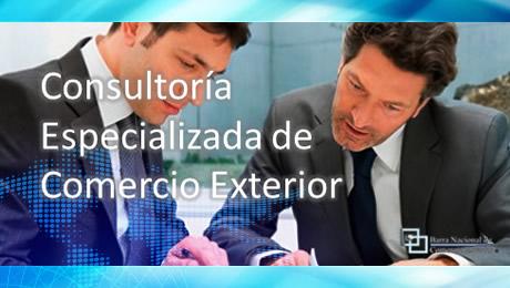 Consultoría especializada de Comercio Exterior