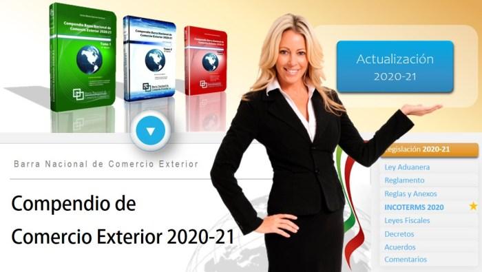 Compendio de Comercio Exterior 2020-21
