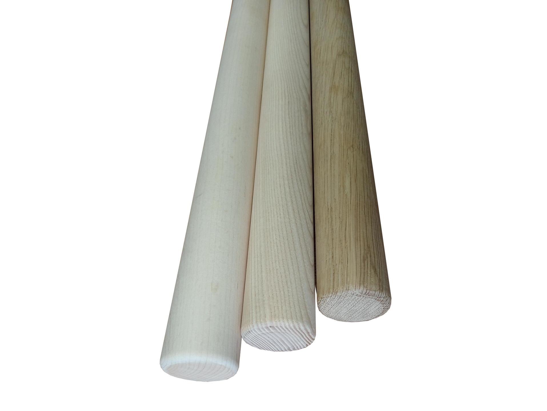 barres en bois sur mesure 80 240 cm