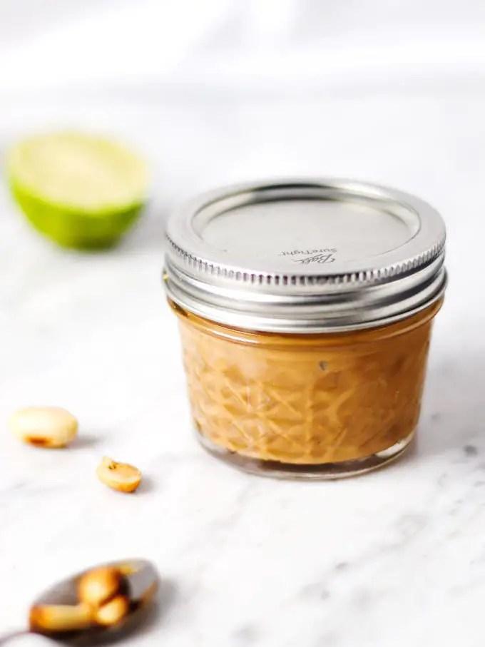 鹹香花生調醬 (7 樣食材) Umami Easy Peanut Sauce     Barrel Leaf 桶子葉