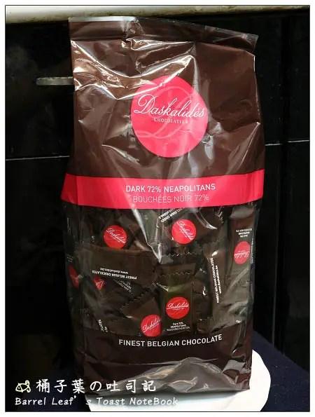 【Costco 好市多】Daskalides.72%黑巧克力︱高檔比利時巧克力 | | Barrel Leaf 桶子葉