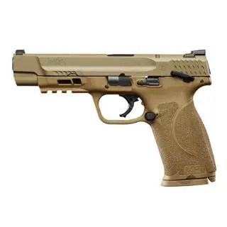 "SMITH & WESSON M&P9 9MM M2.0 5"" 17RD FLAT DARK EARTH"