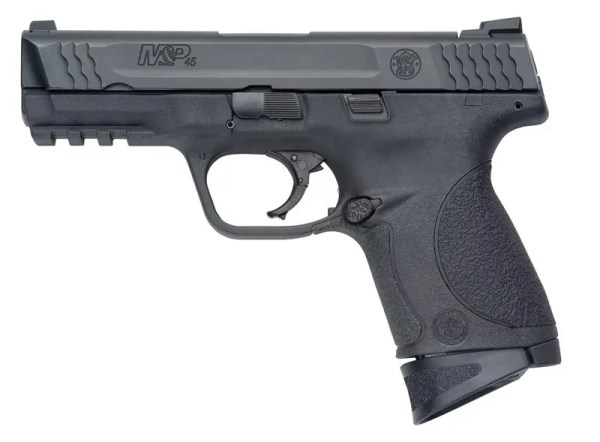 SMITH AND WESSON M&P 45 ACP W/ THREADED BARREL