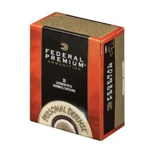 FEDERAL PREMIUM 40SW 165GR HYDRA-SHOK JHP 20/25