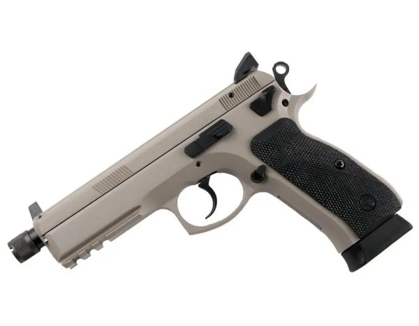CZ 75 SP-01 Shadow Dual-Tone Semi-Auto Pistol 9mm