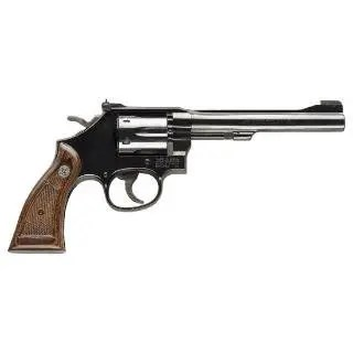 "SMITH & WESSON 17 MASTERPIECE 22LR 6"" BLUED"