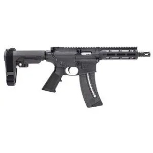 "SMITH & WESSON M&P15-22 PISTOL 22LR 7"" MLOK SBA3 PSB 25RD"