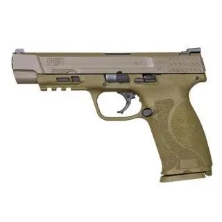 """SMITH AND WESSON M&P9 M2.0 9MM 5"""" FDE NTS 2 17RD"""