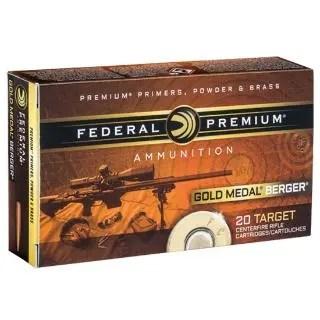 FEDERAL GOLD MEDAL 6.5CREED 130GR BER VLD 20/10