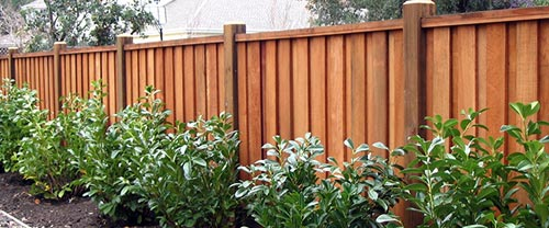 wood fences combining function