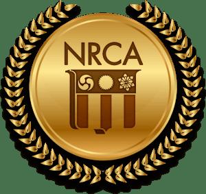 NRCA Gold Circle Award emblem winner