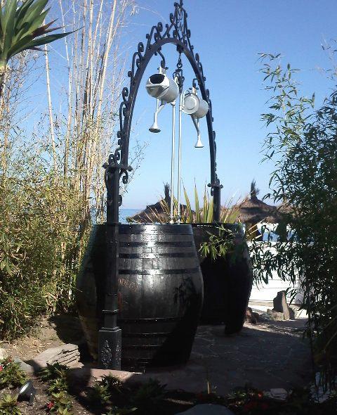 Barricas  toneles  rustico  accesorios  barricas