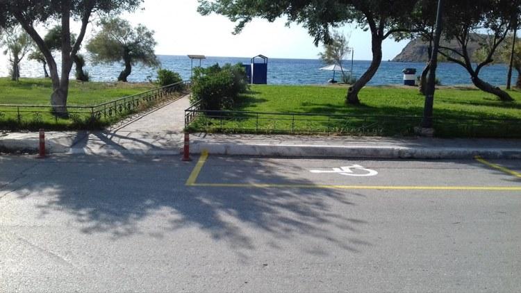 Behindertenparkplatz - Fotoquelle: seatrac - TOBEA