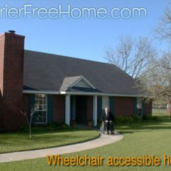 Hardwood Kitchen Floor Frameless Cabinets Wheelchair-accessible Housing & Universal Design Homes At ...