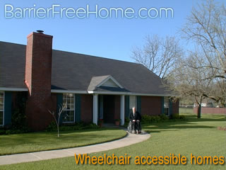 wheel chair ramp boat chairs folding wheelchair-accessible housing & universal design homes at barrier free home
